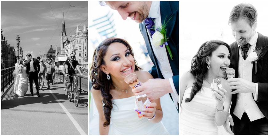 Djurgårdsbron-bröllopsfoto