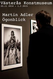 Martin Adler Ögonblick Utställning som berör
