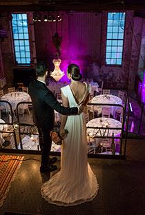 Urbant Bröllop i Värtahamnen
